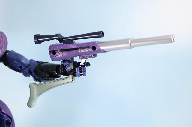 マスターピース MP-43 メガトロン ビーストウォーズ レビュー 付属品 ハンティングライフル