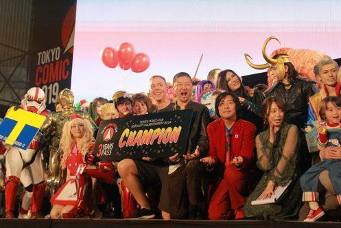 「東京コミコン2019 コスプレ チャンピオンシップ2019」が開催!コスプレイヤーの頂点が決まる!!