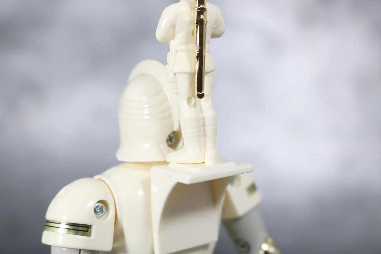 プラデラ 獣将ファイター バトルカーク レビュー 付属品 ニンジャホワイト 台座