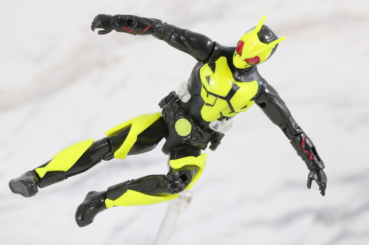 RKF RIDER KICK'S FIGURE 仮面ライダーゼロワン ハイブリットライズフィギュア レビュー ライジングホッパー アクション