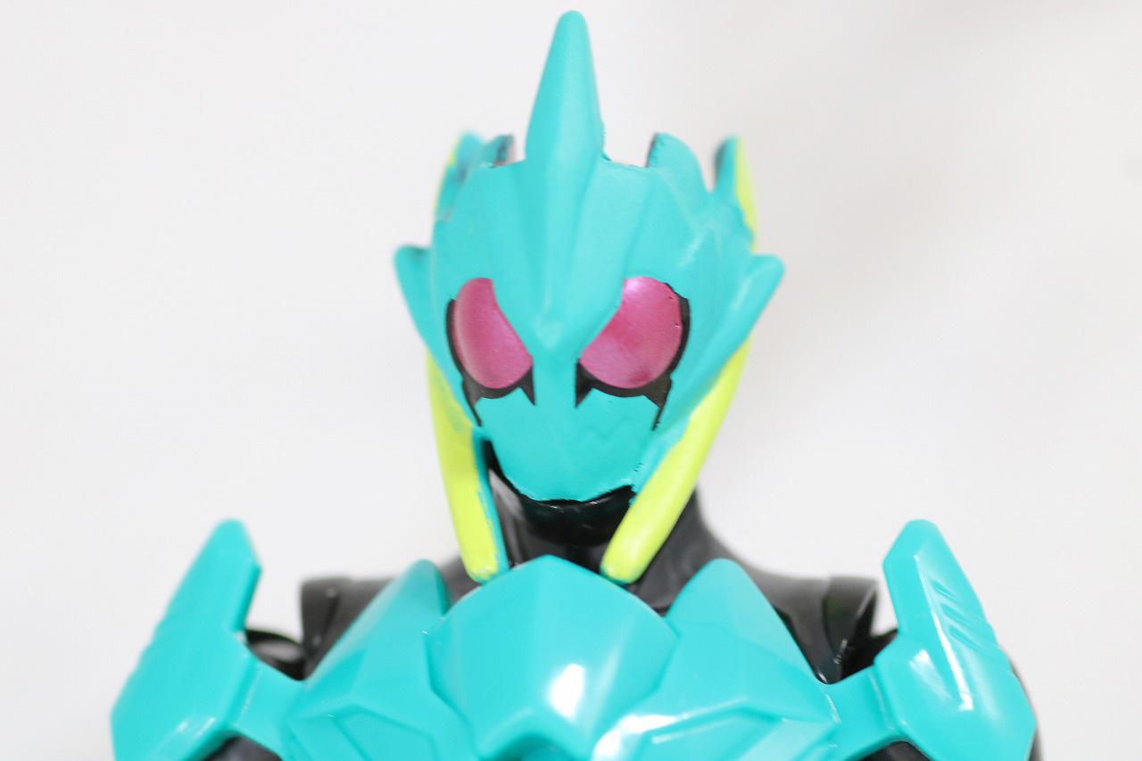 RKF RIDER KICK'S FIGURE 仮面ライダーゼロワン ハイブリットライズフィギュア レビュー バイティングシャーク 全身
