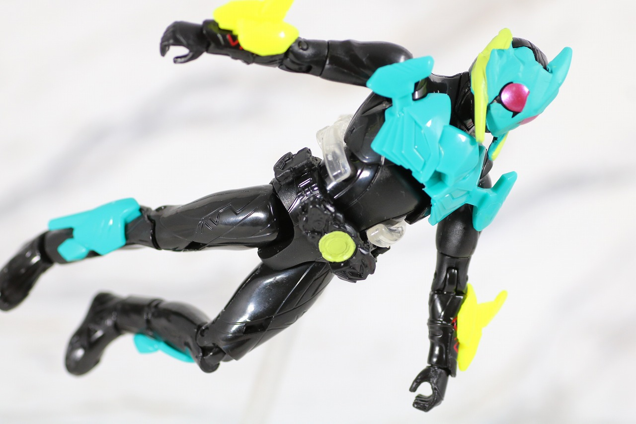 RKF RIDER KICK'S FIGURE 仮面ライダーゼロワン ハイブリットライズフィギュア レビュー バイティングシャーク アクション