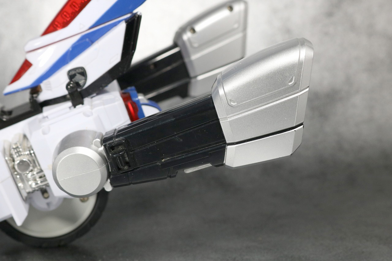 DXデカバイクロボ レビュー バイク 全体