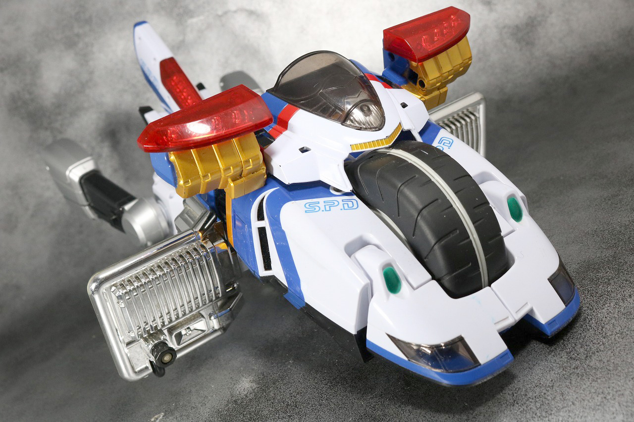 DXデカバイクロボ レビュー アクション バイク形態