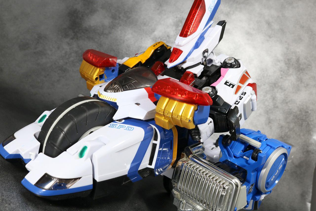 DXデカバイクロボ レビュー アクション スーパーデカレンジャーロボ