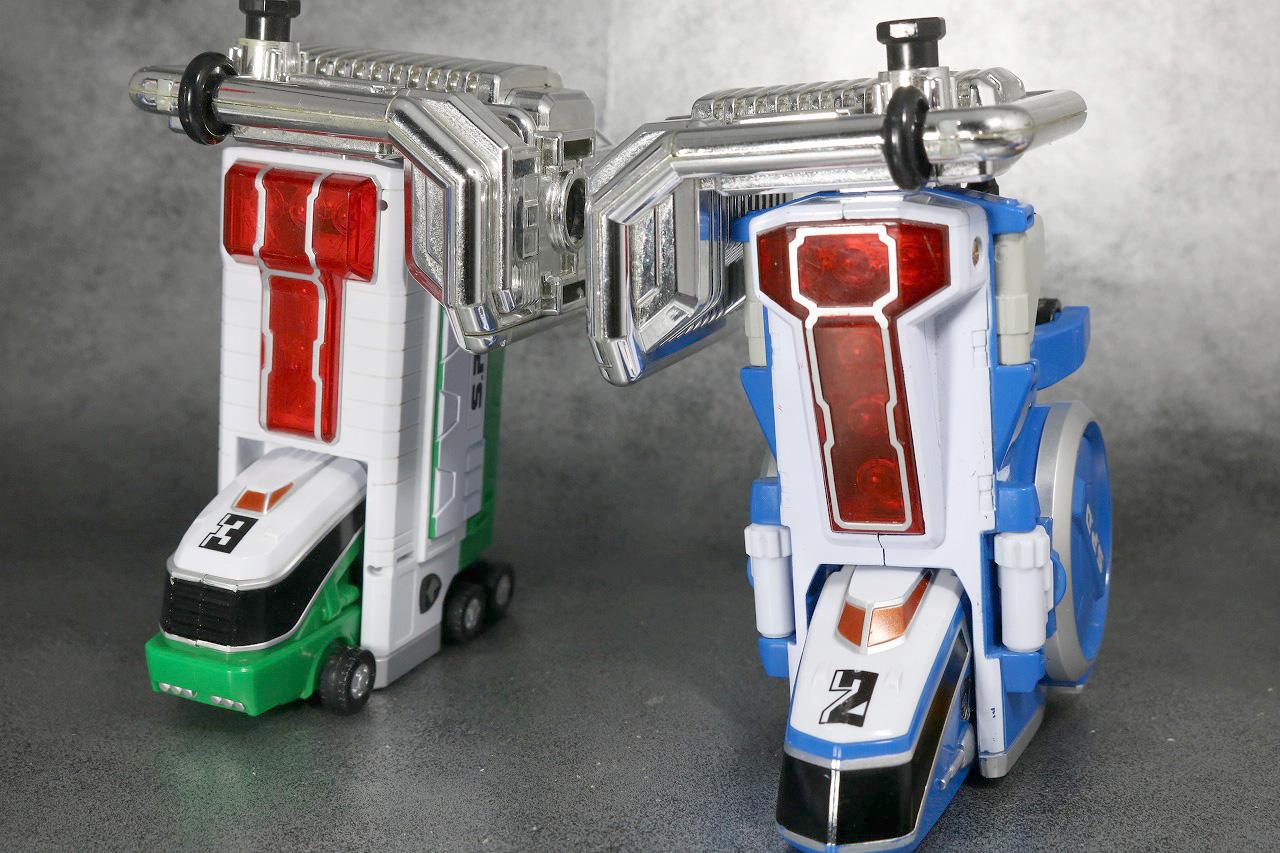 DXデカバイクロボ レビュー スーパーデカレンジャーロボ 合体