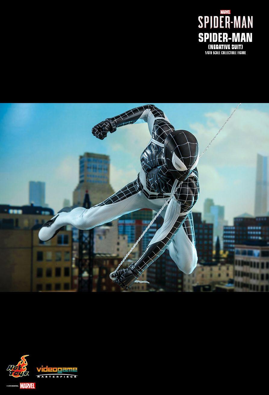 ホットトイズ ビデオゲーム・マスターピース スパイダーマン ネガティブ・スーツ