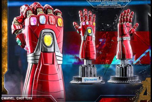 ホットトイズ新作!1/4スケール「ナノガントレット」が商品化決定!LEDや指可動もあり!
