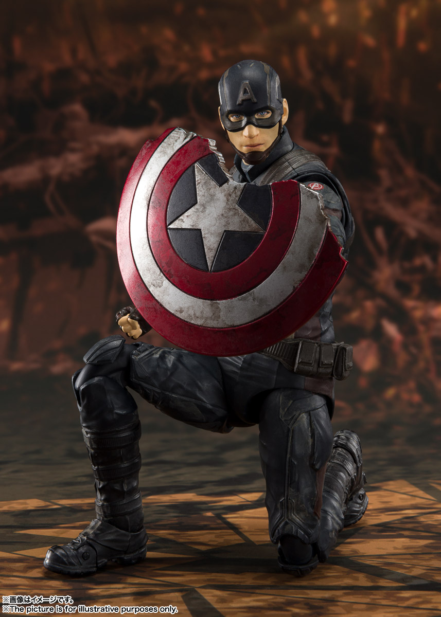 S.H.フィギュアーツ キャプテン・アメリカ《FINAL BATTLE》EDITION-(アベンジャーズ/エンドゲーム)
