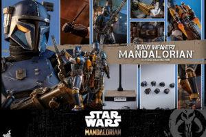 ホットトイズ新作!『マンダロリアン』から重歩兵マンダロリアンが2021年3月に発売!重火器ヘビー・ブラスターも完全再現!
