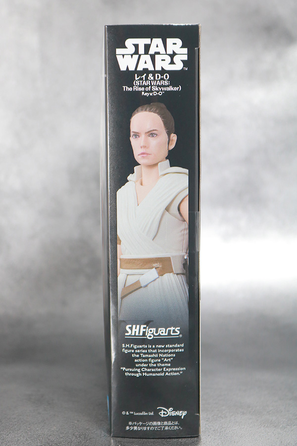 S.H.フィギュアーツ レイ (STAR WARS: The Rise of Skywalker) スカイウォーカーの夜明け レビュー パッケージ