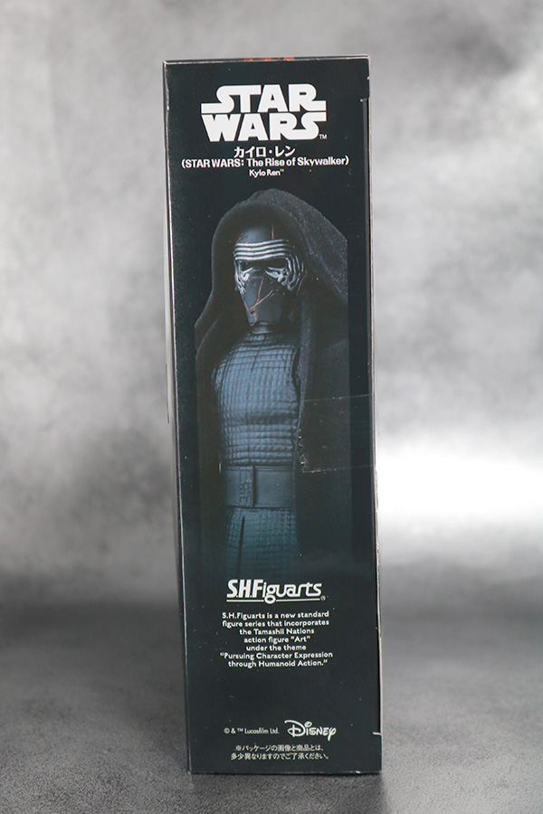 S.H.フィギュアーツ カイロ・レン (STAR WARS: The Rise of Skywalker) スカイウォーカーの夜明け レビュー パッケージ
