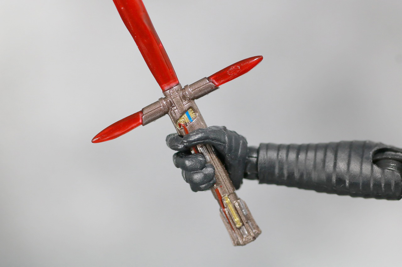 S.H.フィギュアーツ カイロ・レン (STAR WARS: The Rise of Skywalker) スカイウォーカーの夜明け レビュー 付属品 ライトセイバー