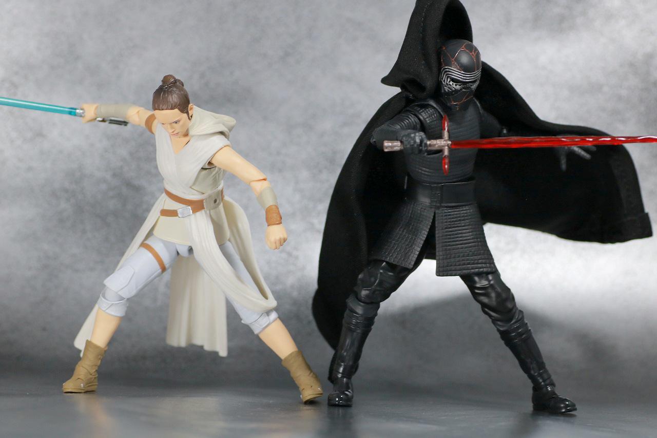 S.H.フィギュアーツ カイロ・レン (STAR WARS: The Rise of Skywalker) スカイウォーカーの夜明け レビュー アクション レイ