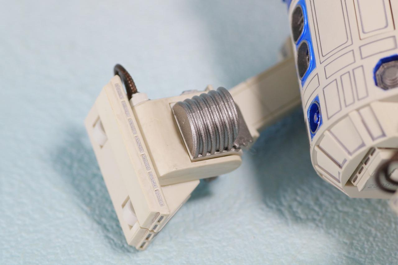 S.H.フィギュアーツ R2-D2 (A NEW HOPE) レビュー 付属品