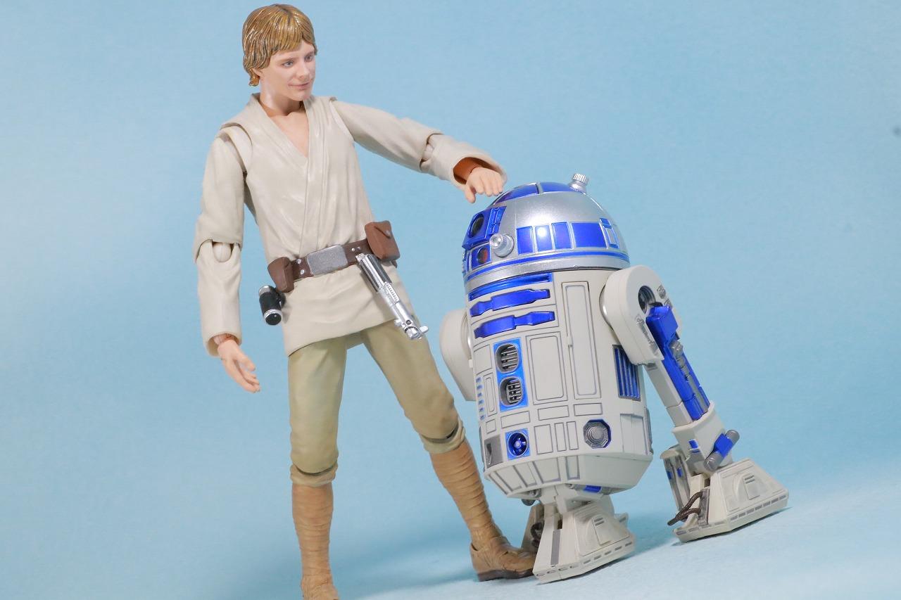 S.H.フィギュアーツ R2-D2 (A NEW HOPE) レビュー アクション ルーク・スカイウォーカー