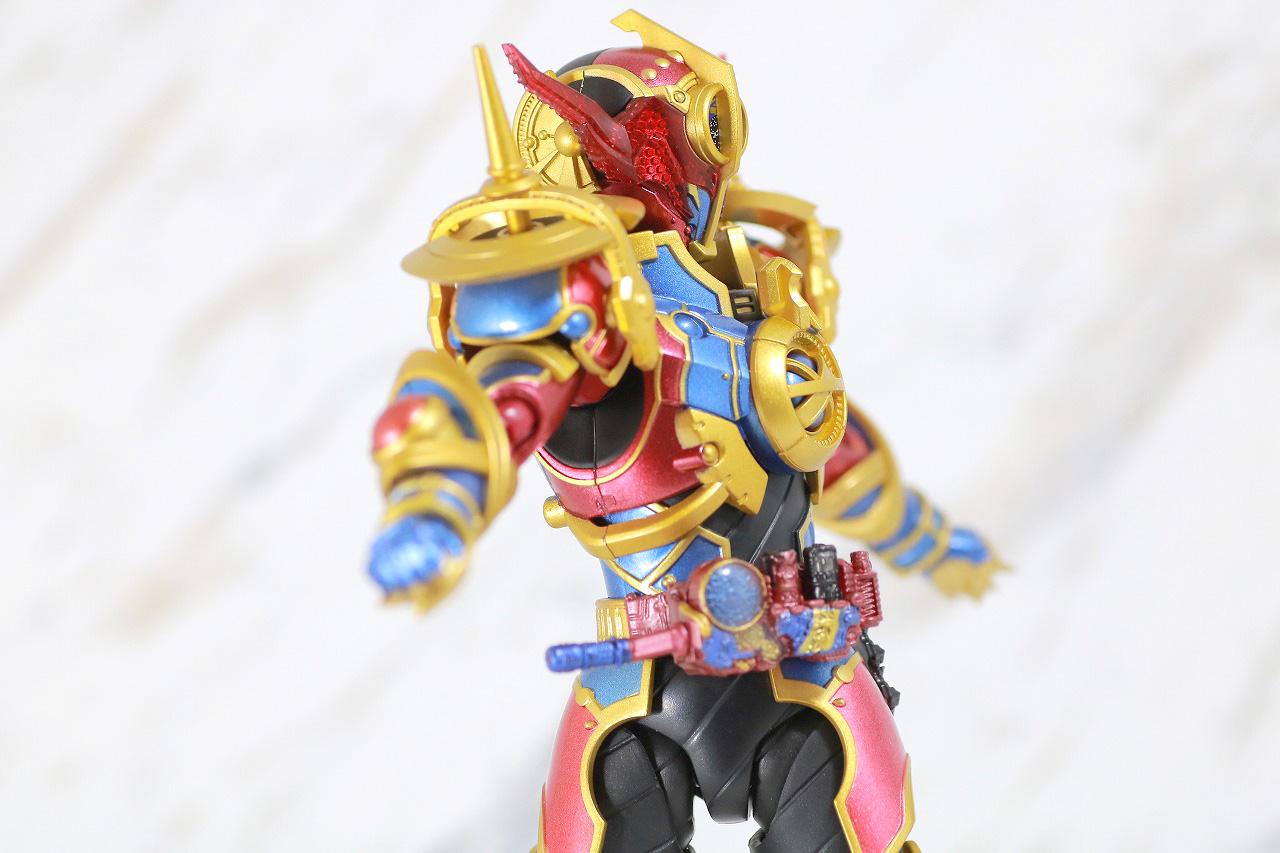 S.H.フィギュアーツ 仮面ライダーエボル レビュー 可動範囲