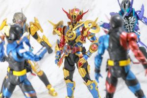 S.H.フィギュアーツ 仮面ライダーエボル(フェーズ1.2.3セット) レビュー