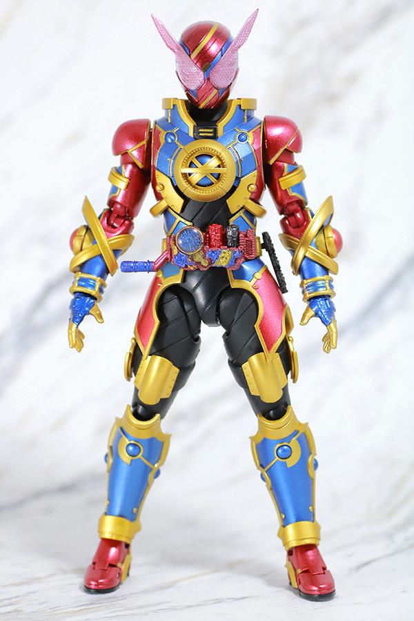 S.H.フィギュアーツ 仮面ライダーエボル レビュー 付属品 フェーズ3 エボルラビット 全身