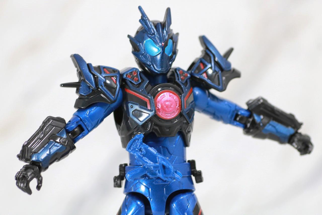 RKF RIDER KICK'S FIGURE 仮面ライダーバルカン アサルトウルフ レビュー 可動範囲