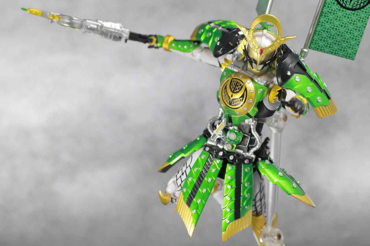 S.H.フィギュアーツ 仮面ライダー斬月 カチドキアームズ レビュー アクション