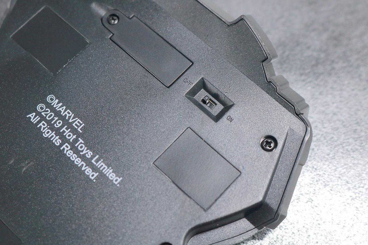 ライフサイズ・マスターピース アーク・リアクター アイアンマン マーク85 レビュー LED発光ギミック