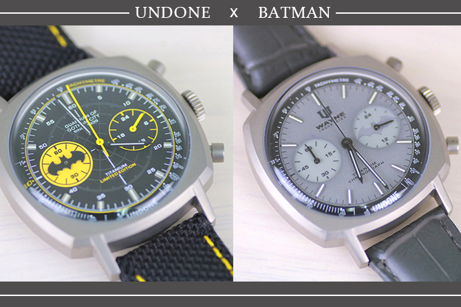 腕時計でバットマン80年を祝う。UNDONE「The Caped Crusader」「The Dark Knight」レビュー[PR]