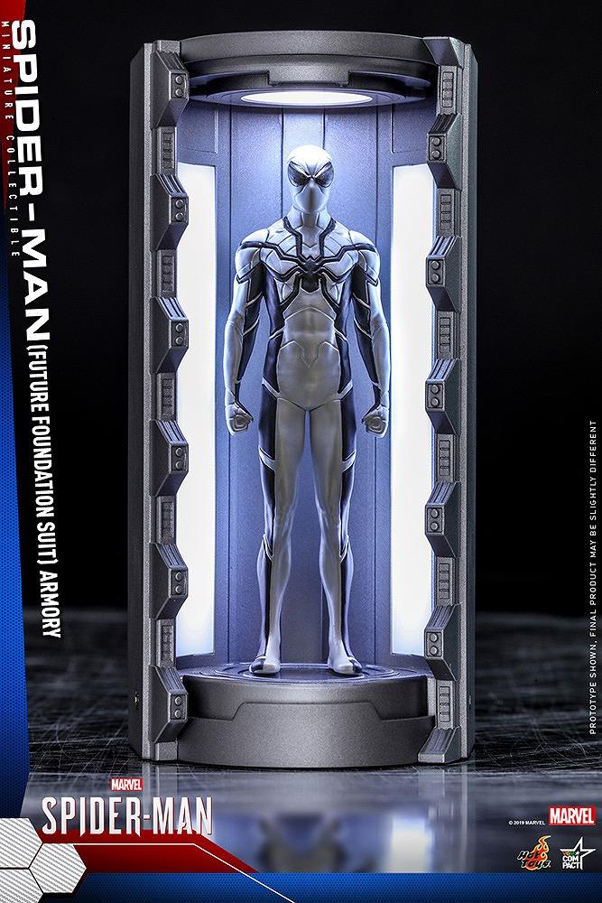 ビデオゲーム・マスターピース COMPACT フューチャー・ファウンデーションスーツ スパイダーマン