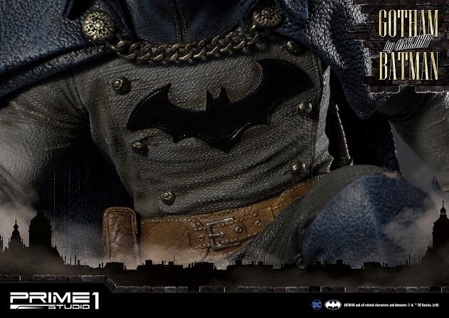 プライム1スタジオ コンセプトマスターライン/バットマン アーカム・ビギンズ:ゴッサム・バイ・ガスライト バットマン 1/5 スタチューブルー