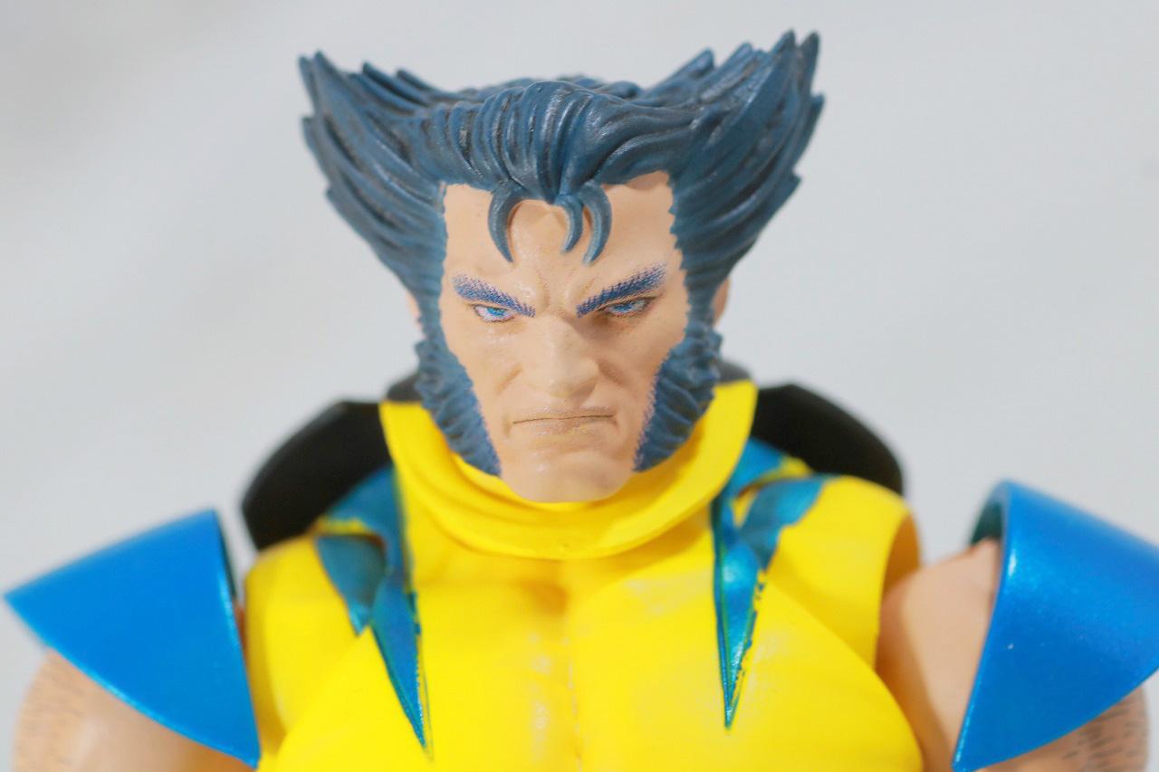 MAFEX ウルヴァリン COMIC Ver. レビュー 付属品 素顔頭部 ローガン