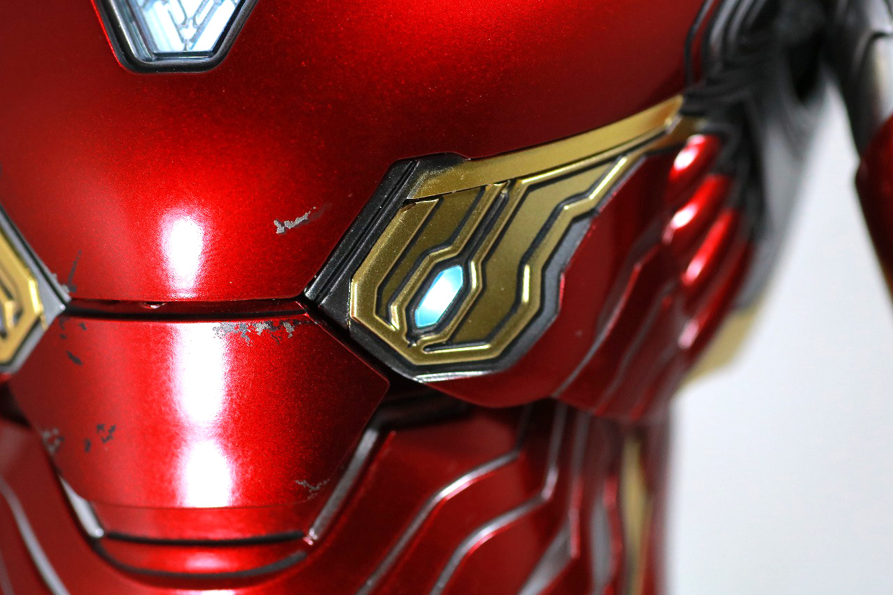 ホットトイズ ムービー・マスターピース アイアンマン マーク50 レビュー LEDライトアップギミック