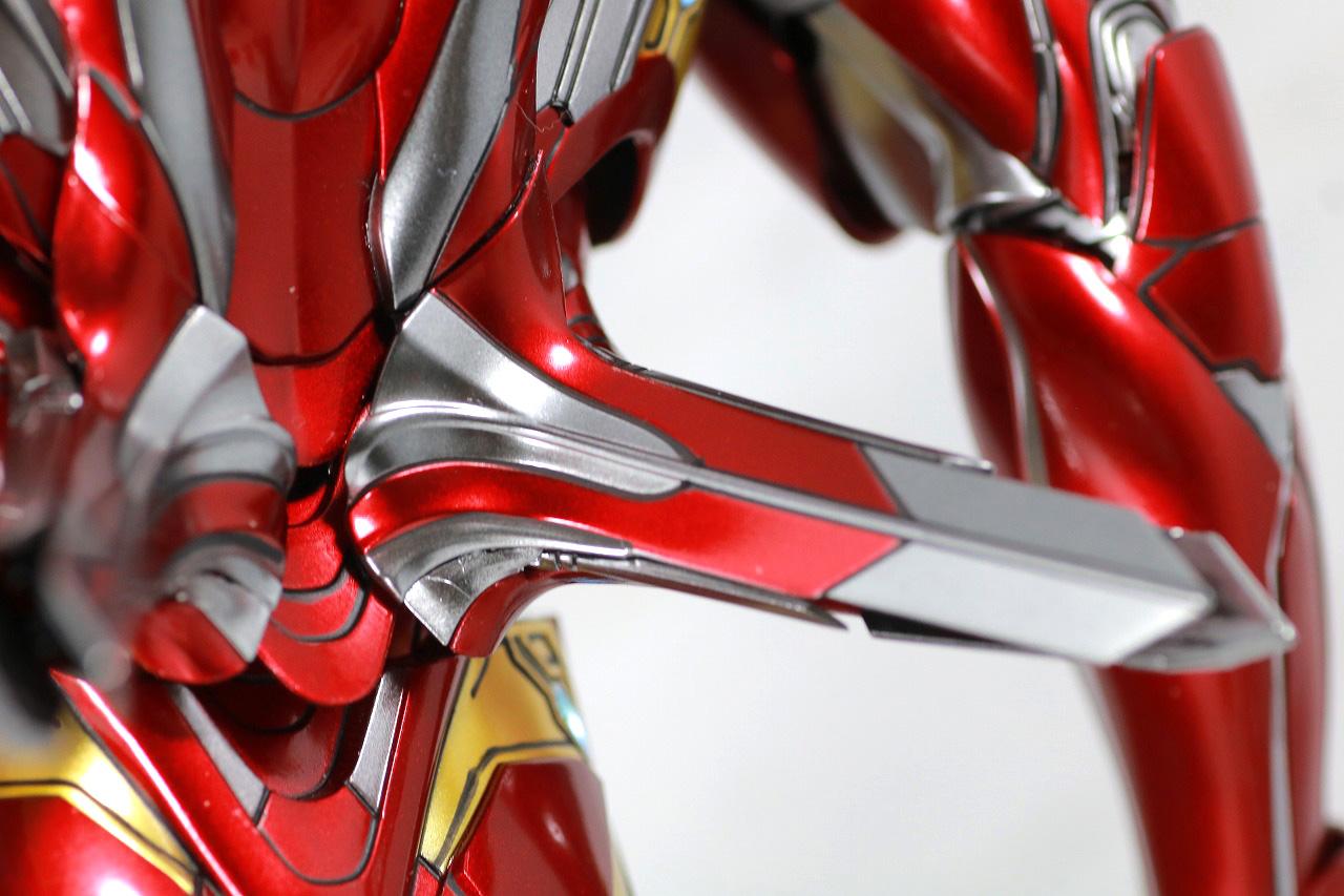 ホットトイズ ムービー・マスターピース アイアンマン マーク50 レビュー 付属品 ナノウエポン フライト・スラスター