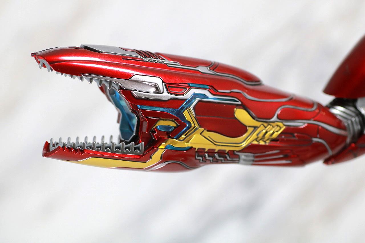 ホットトイズ ムービー・マスターピース アイアンマン マーク50 レビュー 付属品 ナノウエポン ナノ・リパルサーキャノン