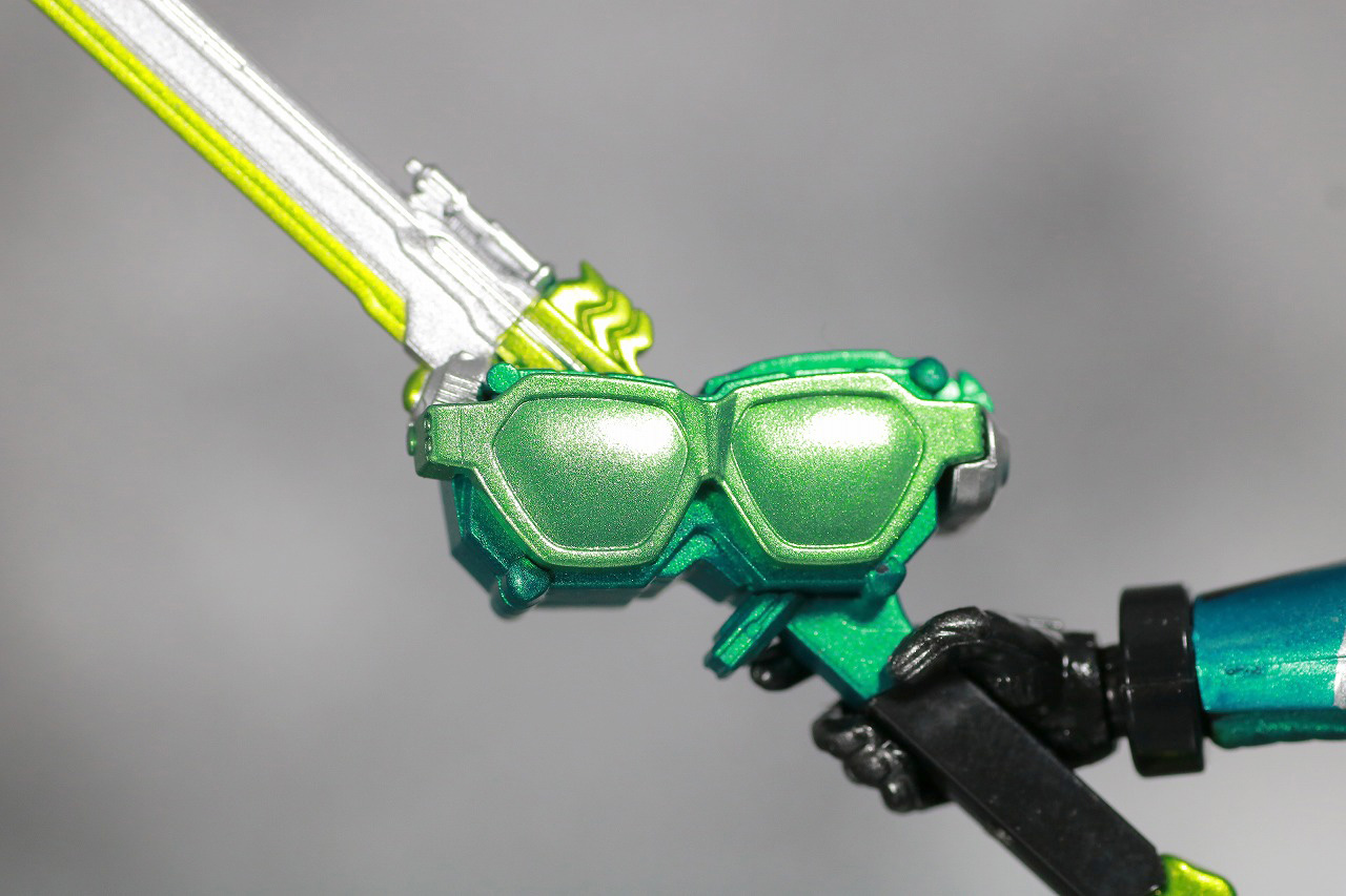 S.H.フィギュアーツ 仮面ライダーブレン レビュー 付属品 ブレンメガネブレード