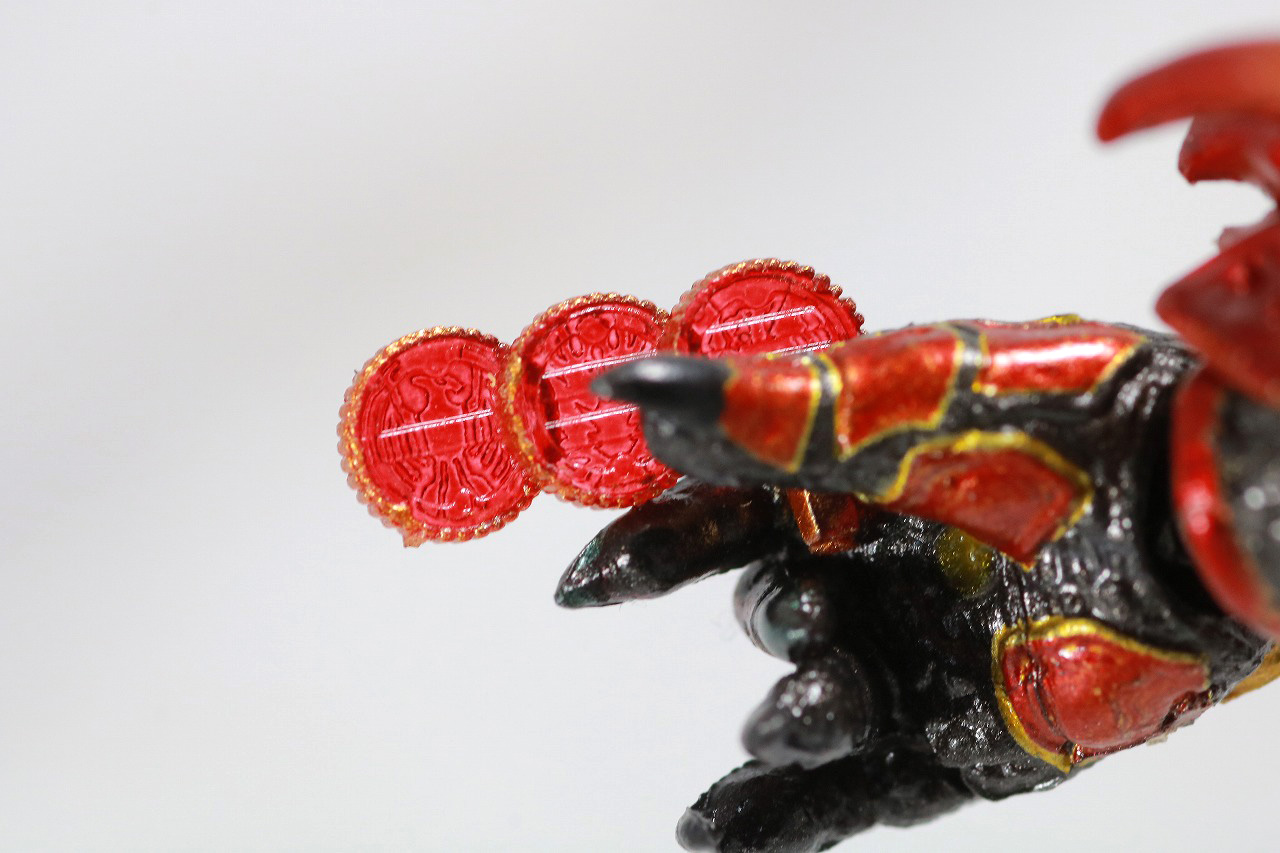 S.H.フィギュアーツ アンク 真骨彫製法 レビュー 付属品 手首 タカ クジャク コンドル コアメダル タトバ