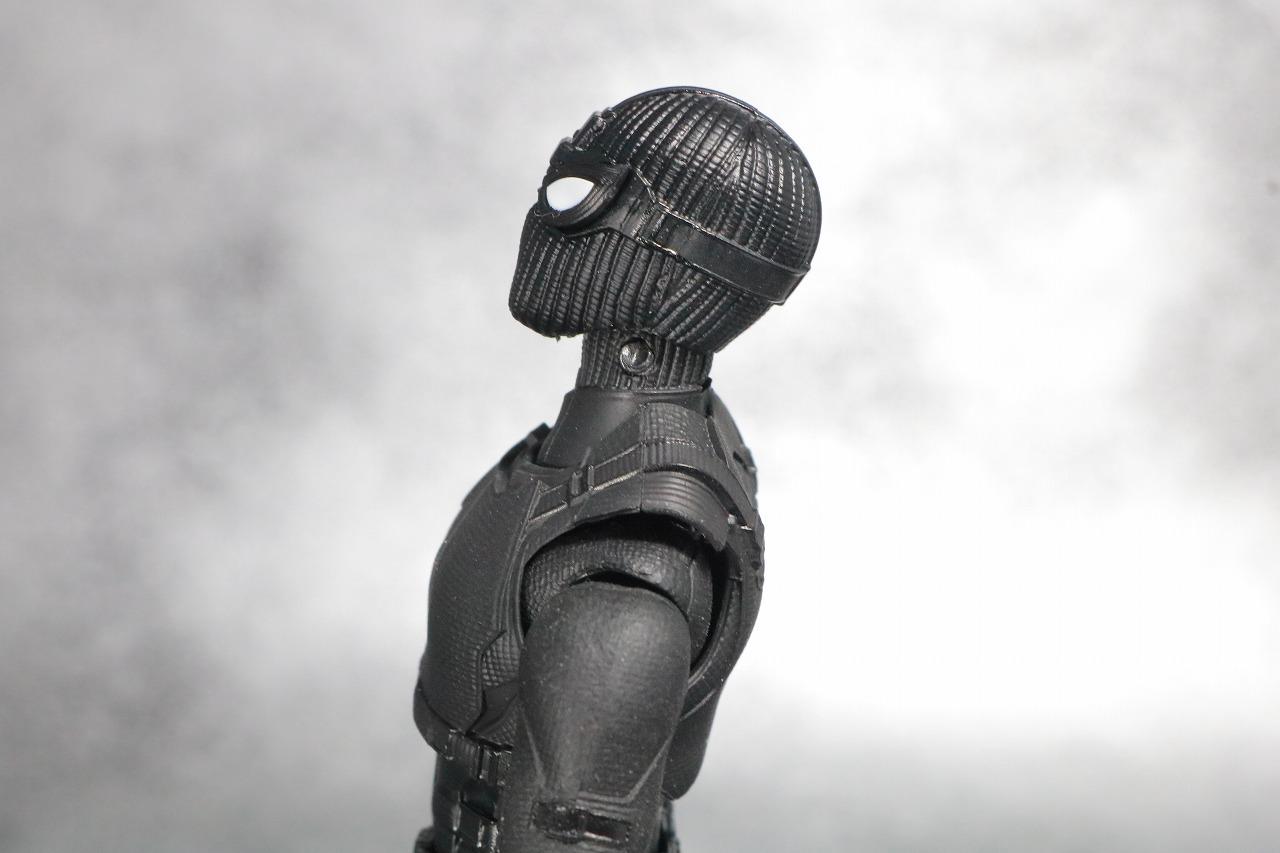 S.H.フィギュアーツ スパイダーマン ステルス・スーツ レビュー 可動範囲