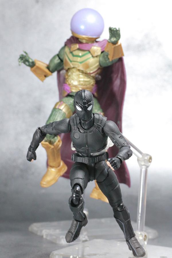 S.H.フィギュアーツ スパイダーマン ステルス・スーツ レビュー アクション マーベルレジェンド ミステリオ