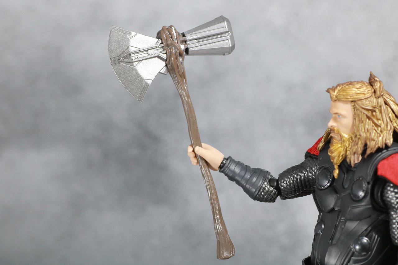 S.H.フィギュアーツ ソー アベンジャーズ/エンドゲーム レビュー 付属品 ストームブレイカー