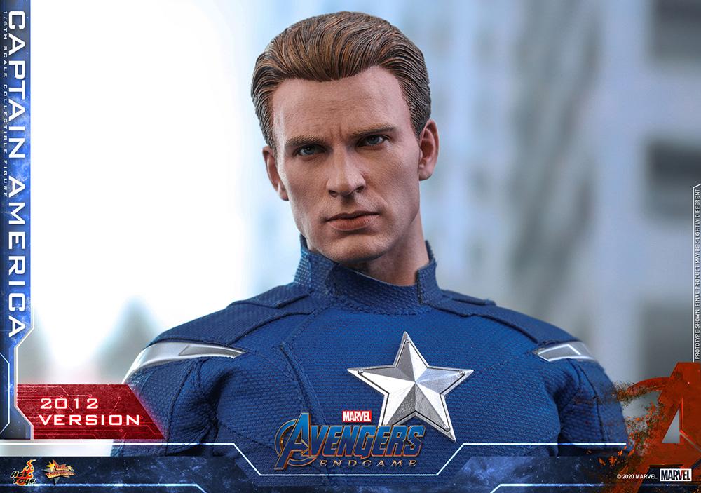 ホットトイズ ムービーマスターピース キャプテンアメリカ(2012) アベンジャーズ/エンドゲーム