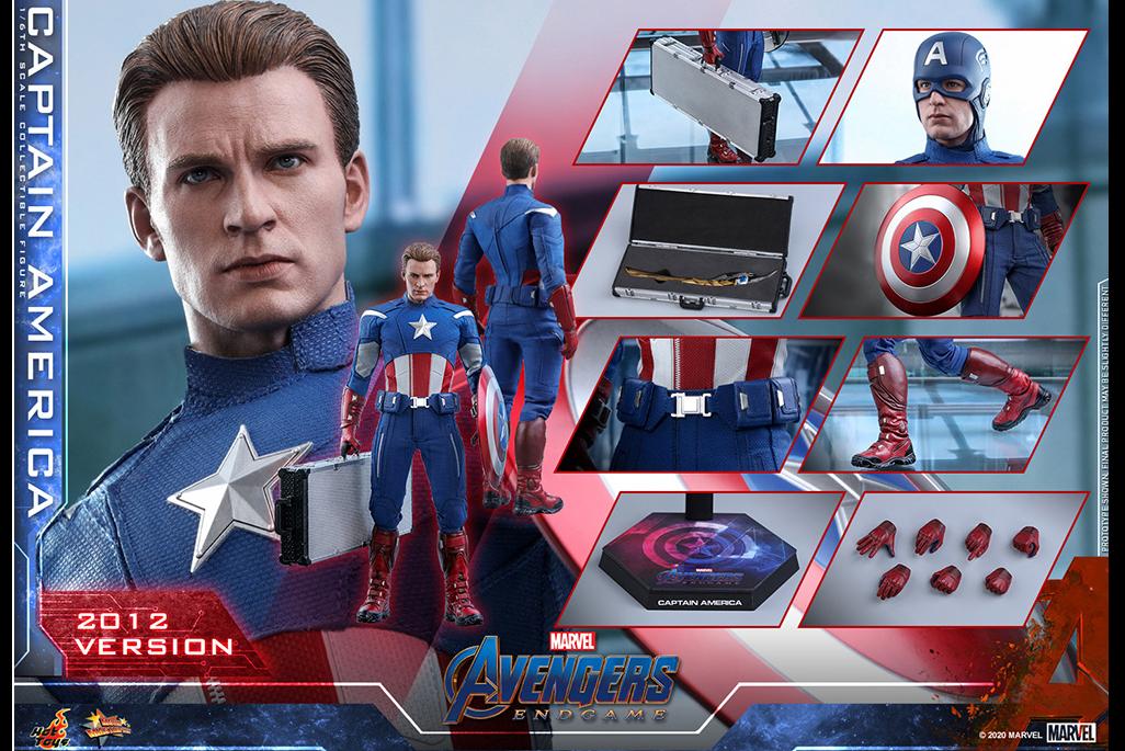 【予約開始】ホットトイズ新作!『エンドゲーム』登場のキャプテンアメリカ(2012)が2021年9月に発売!セプター付き