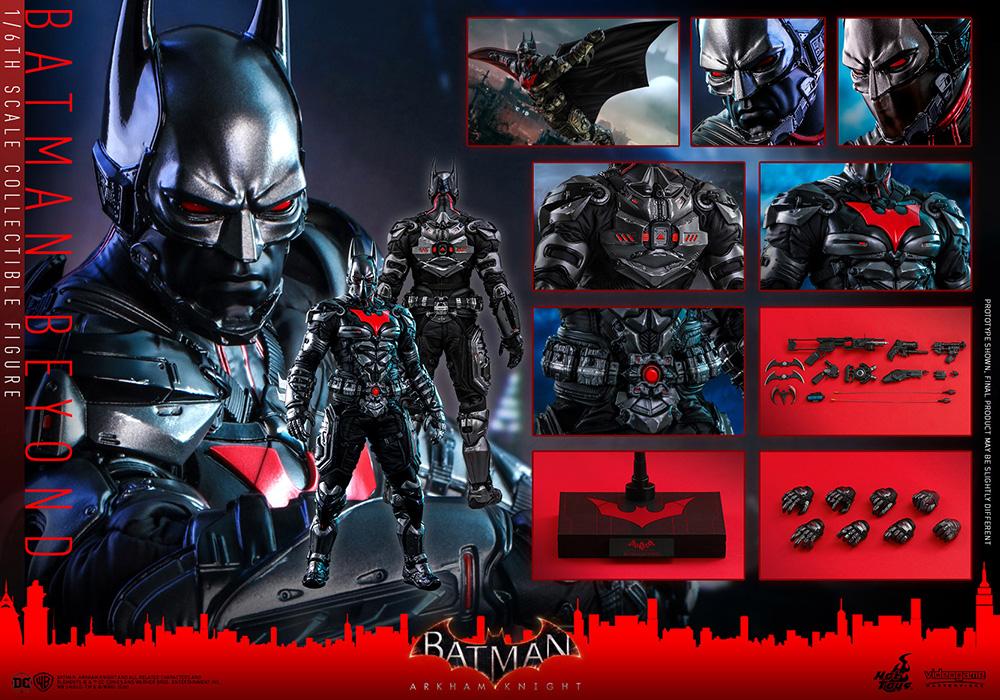 ホットトイズ ビデオゲーム・マスターピース バットマン ザ・フューチャー版