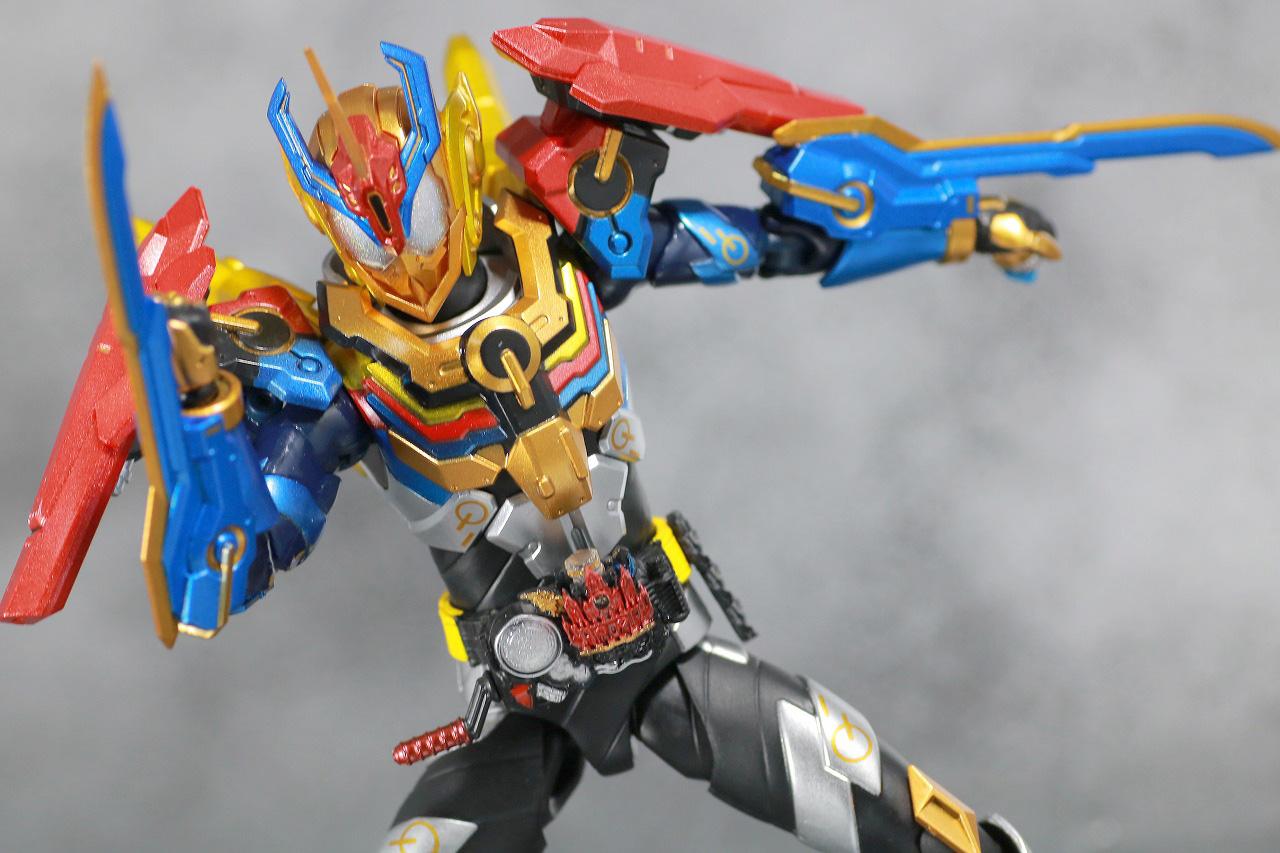 S.H.フィギュアーツ 仮面ライダーグリス パーフェクトキングダム レビュー アクション