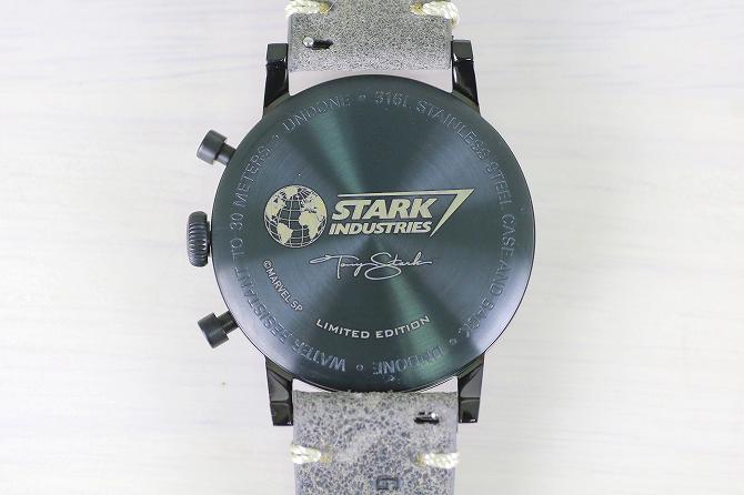 UNDONE アンダーン マーベル コラボ アイアンマン STARK INDUSTRIES スタークインダストリー 腕時計 レビュー