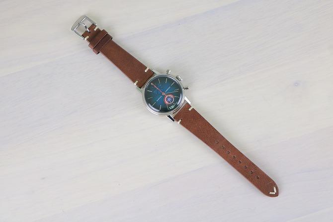 UNDONE アンダーン マーベル コラボ キャプテンアメリカ 腕時計 レビュー
