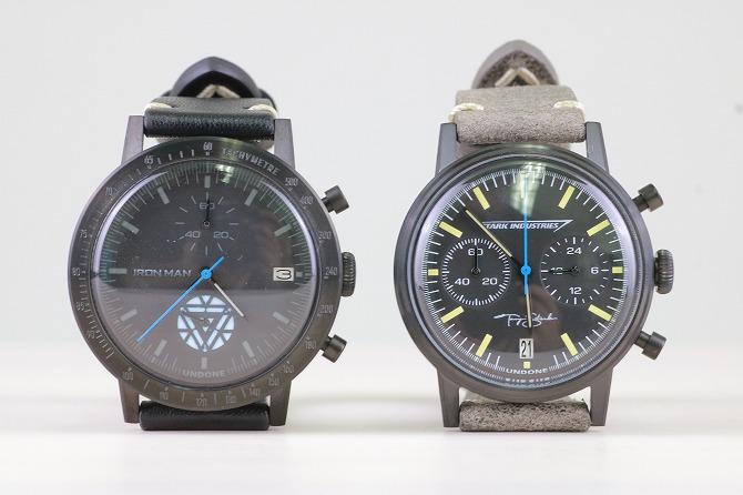 UNDONE アンダーン マーベル コラボ 腕時計 レビュー