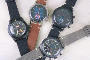 『UNDONE マーベルコラボ腕時計』全4種レビュー - 毎日の相棒にマーベルを。