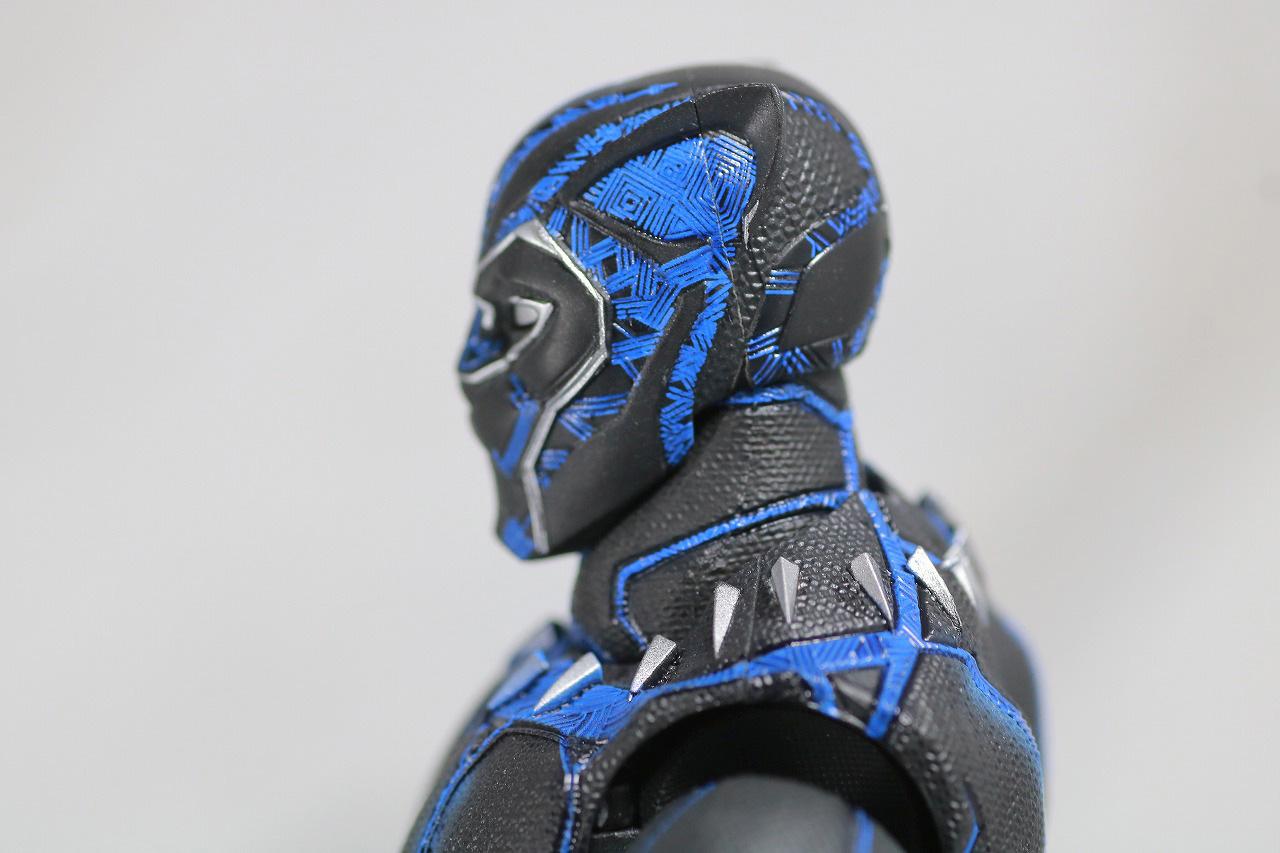S.H.フィギュアーツ ブラックパンサー キング・オブ・ワカンダ ティ・チャラ レビュー 付属品 マスク