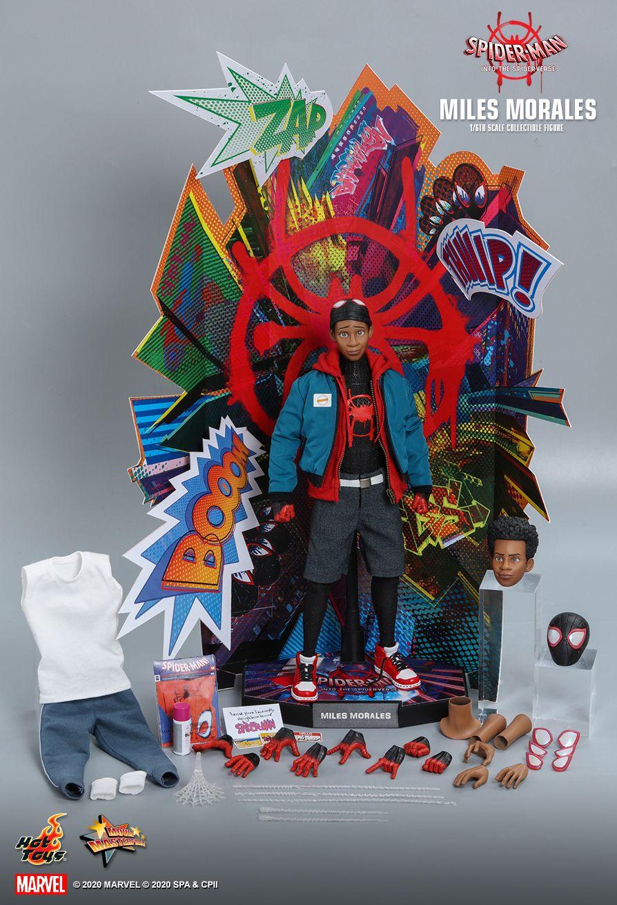 ホットトイズ マイルス・モラレス スパイダーマン:スパイダーバース