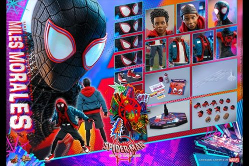 ホットトイズ新作!マイルス・モラレスが『スパイダーバース』版として2021年9月に発売!パーツ差し替えで服装交換も!