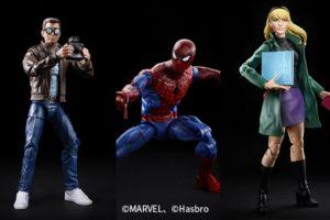 マーベルレジェンド新作!スパイダーマン、ピーター・パーカー、グウェンがレトロタイプで登場!